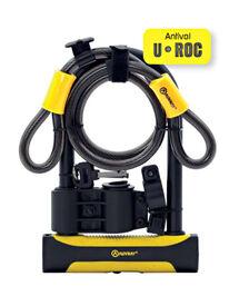 Antivol U Roc Art 4 180X245 D.14 + Câble 100 Diamètre 12
