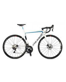 Vélo Route Colnago V3 Disc Ultegra DI2 Blanc Bleu 2021