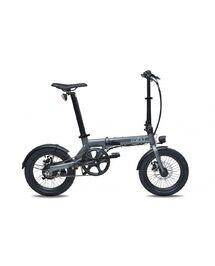 """Vélo Électrique Pliant Eovolt 16"""" City Gris"""