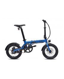 """Vélo Électrique Pliant Eovolt 16"""" City 4 Speed Bleu Saphir"""