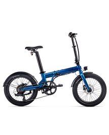 """Vélo Électrique Pliant Eovolt 20"""" Confort Bleu Saphir"""