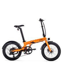 """Vélo Électrique Pliant Eovolt 20"""" Confort Orange Mat"""