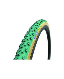 Boyau Michelin Power CycloCross Mud 700x33 Racing Line Vert/Beige