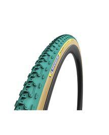 Boyau Michelin Power Cyclocross Jet 700x33 Racing Line Vert/Beige