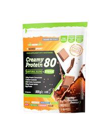 Sachet de Protéines NamedSport Creamy Protein 80% Chocolat 500g