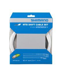 Kit Câbles et Gaines Shimano VTT Optislick OT-SP41 Blanc
