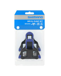 Paire de Cales Shimano Route Bleu SM-SH12 SDP-SL