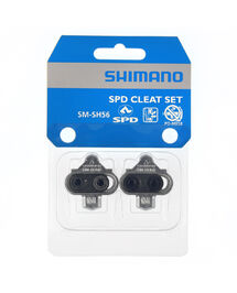 Paire de Cales Shimano VTT Argent SM-SH56 SDP Multidirectionnel